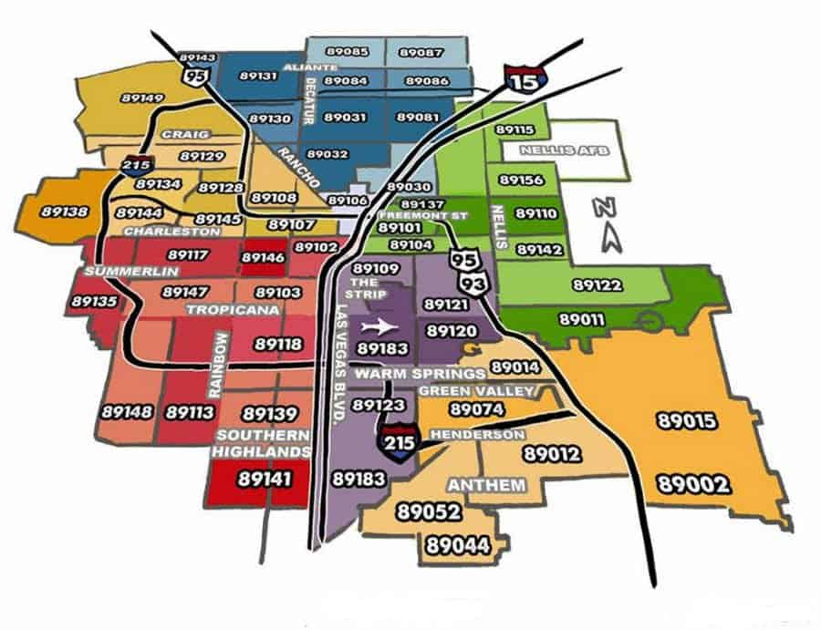Zip-Code-Map-Las-Vegas