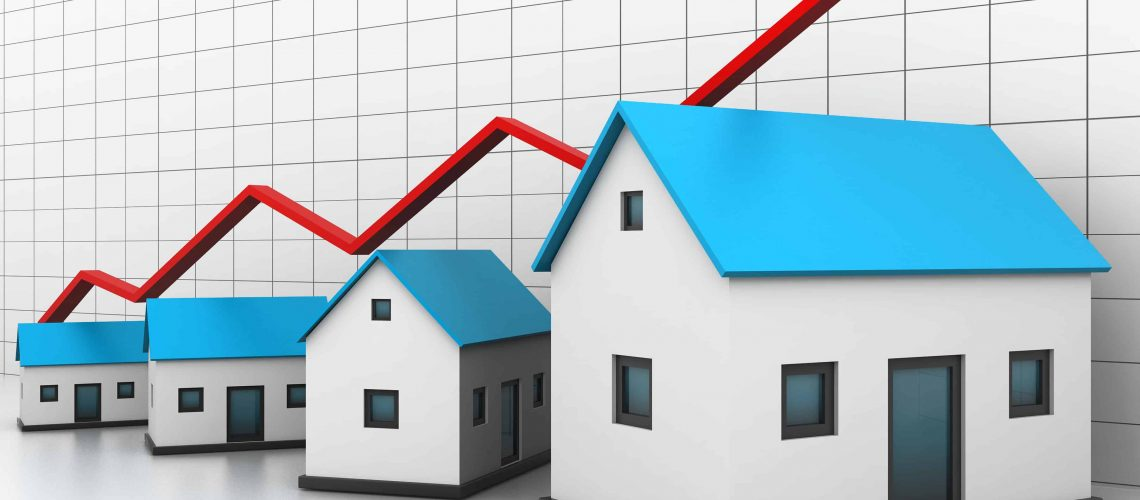 Las Vegas area home appreciation rates over the last year by